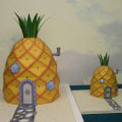Pineapple House Spongebobs Papercraft
