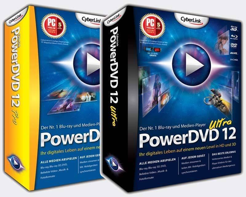 CyberLink PowerDVD 12.0.1312.54 Ultra Full Version