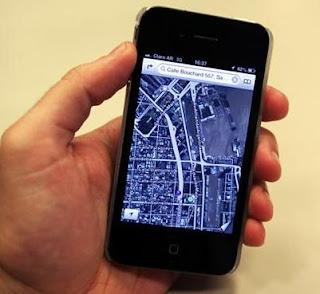mapas apple iphone