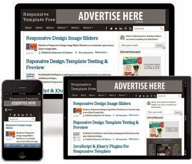 Simple Blog Template Responsive Suitable for Adsense - #Blogger 99