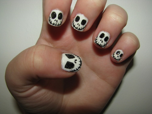Jack Skellington Nail Designs Nailic
