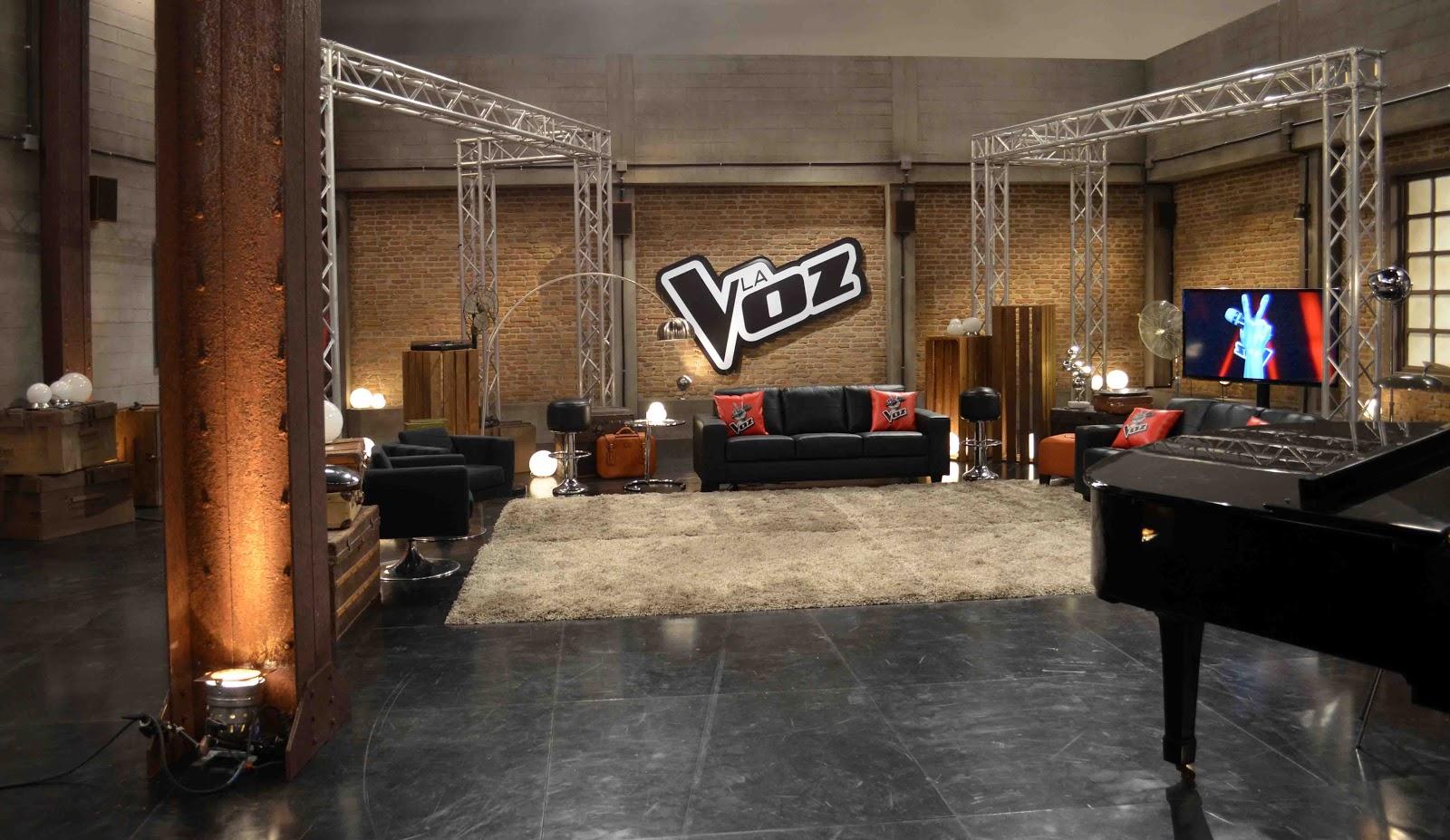 La Voz Primeros Bocetos David Temprano -> Sala De Ensayo Tv Rosario