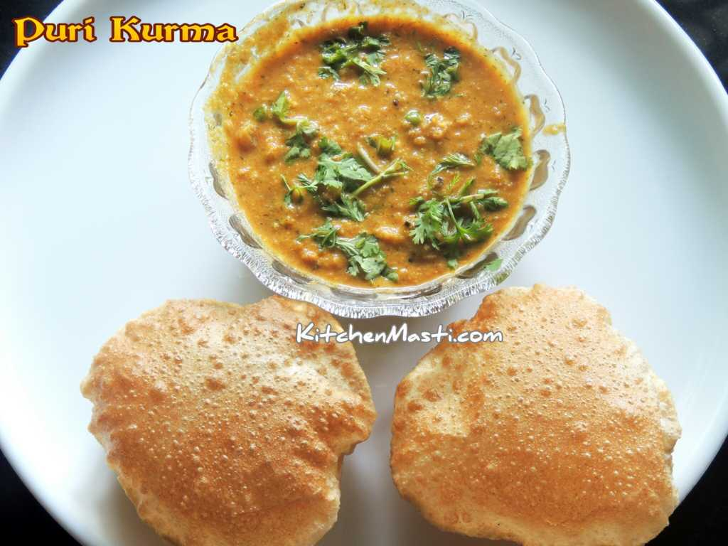 Puri poori kurma recipe vegetarian recipes puri poori kurma recipe forumfinder Choice Image