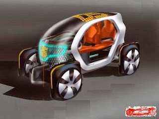 Renault Twizy design genesis
