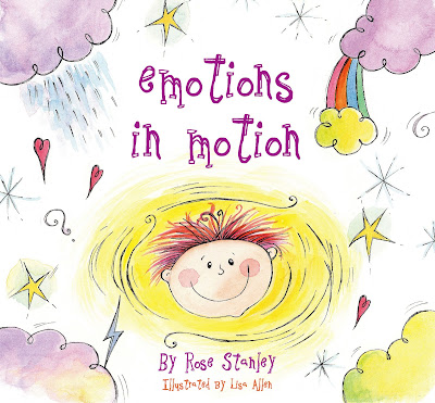Picture book review of Emotions in Motion by Rose Stanley and Lisa Allen