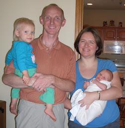 Eric, Wendy, Esther, and Elijah Hofman