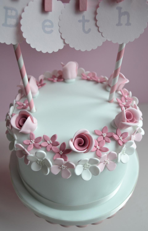 Little Paper Cakes Beths Vintage Birthday Cake