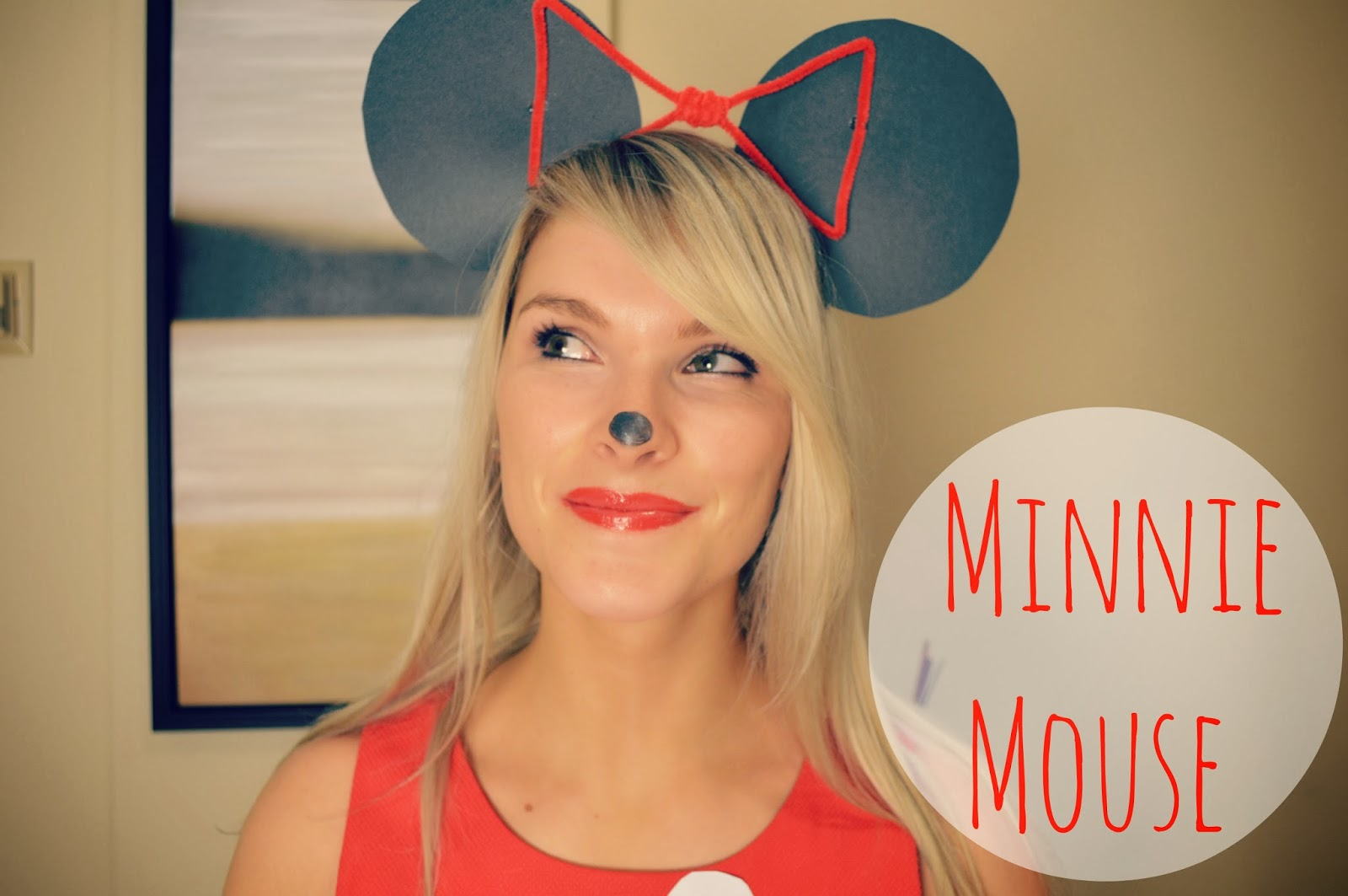 diy minnie mouse halloween costume - life with a.coamanda l. conquer