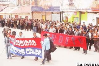 Fría estadística de las Universidades en Bolivia