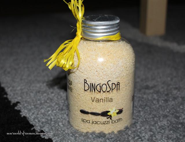 Waniliowe granulki od BingoSpa