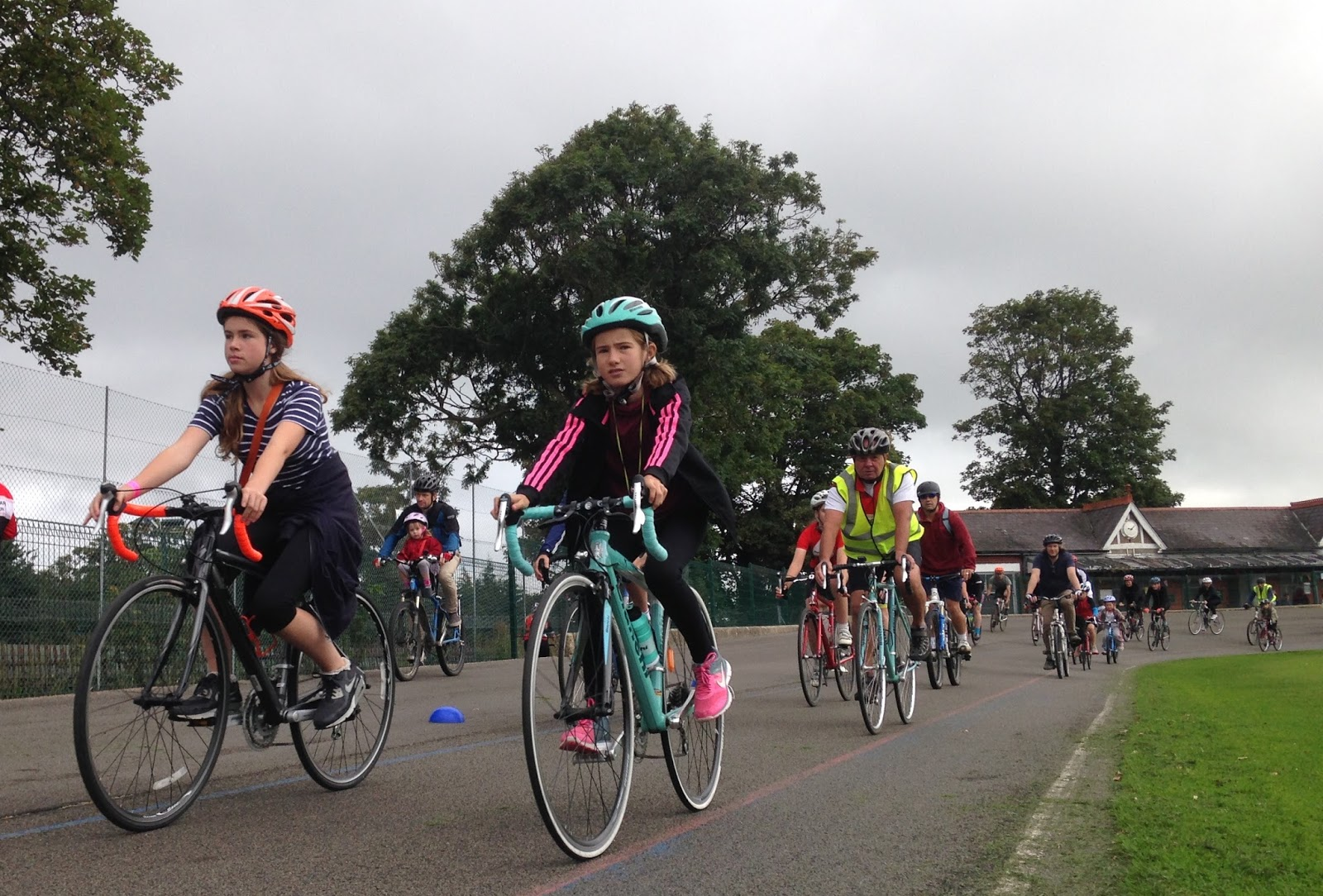 FitBits Brighton | Save Preston Park Cycle Track ride 2015