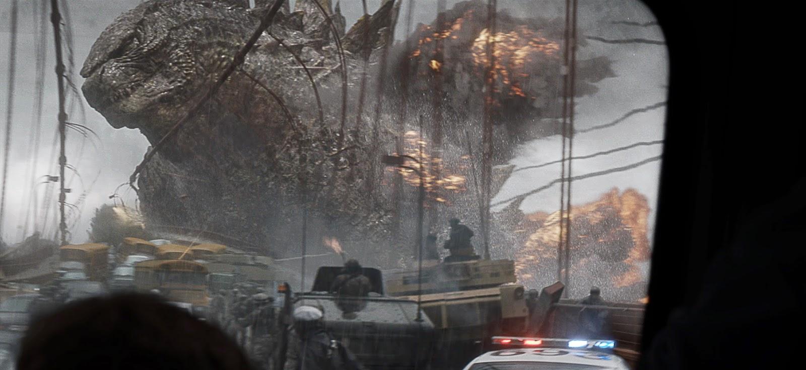 Godzilla | O Rei dos Monstros ataca navios militares e destrói ponte em clipe inédito