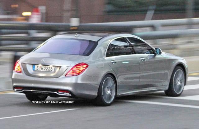 новинка Mercedes-Benz S-Класса 2014