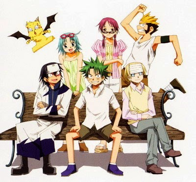 Wallpaper The Law of Ueki