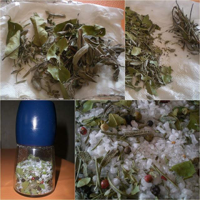 sale aromatizzato: con erbe aromatiche