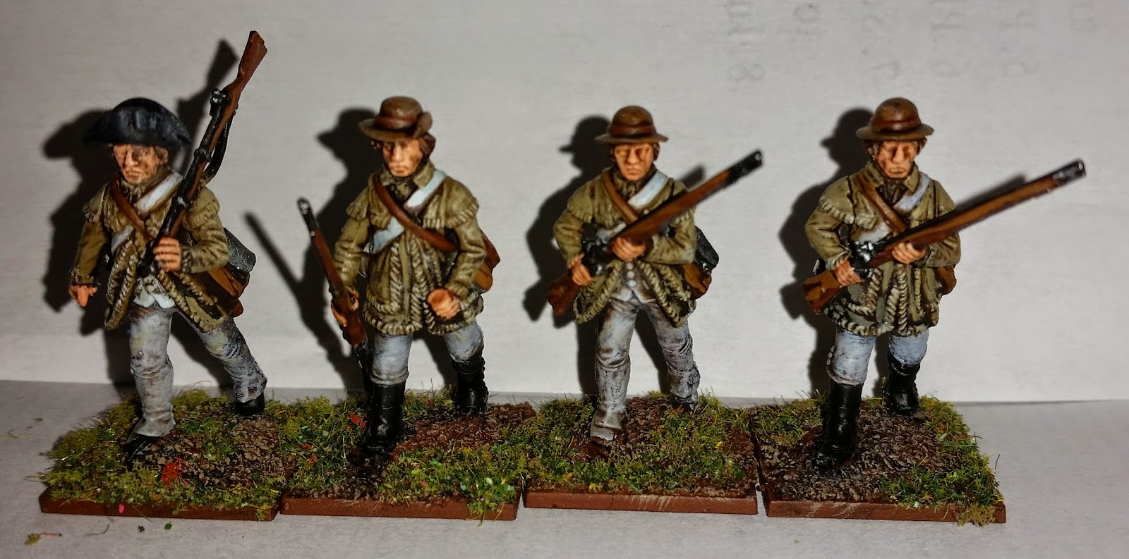 Perry Miniatures AWI Continental Infantry Rifled Muskets