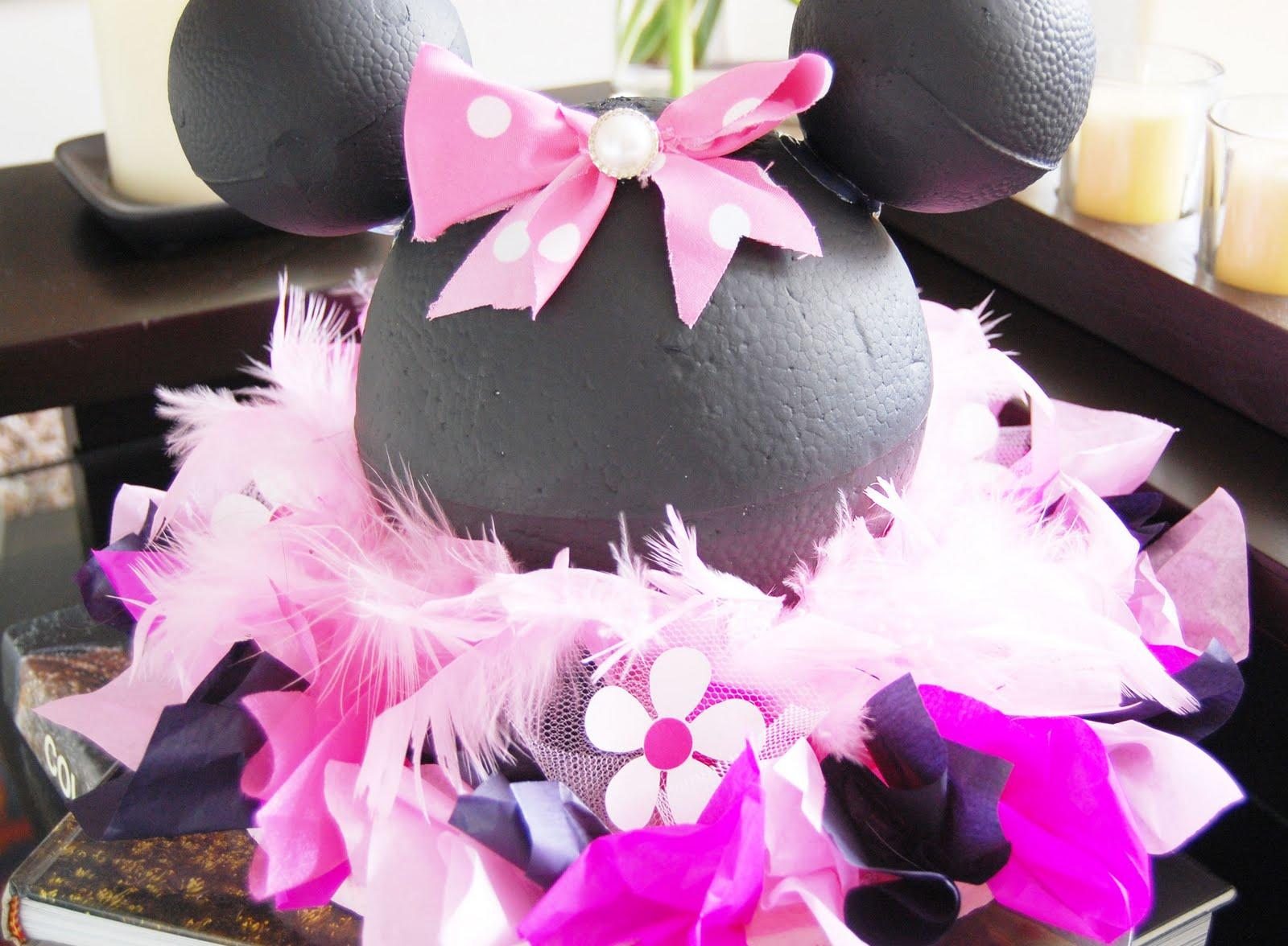 Moms angels decoracion de minnie mouse for Decoracion de minnie mouse