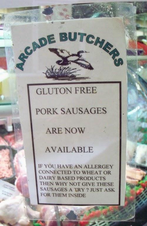 Gluton Free, not Gluten Free