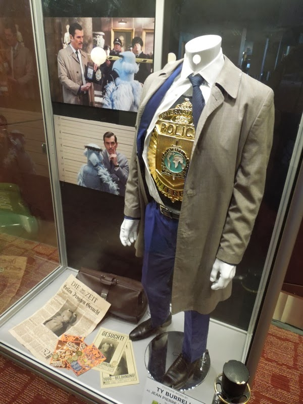 Muppets Most Wanted Ty Burrell Interpol inspector costume
