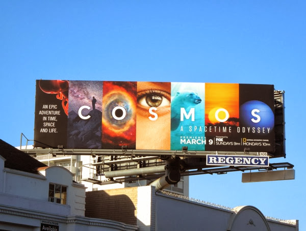 Cosmos series launch billboard