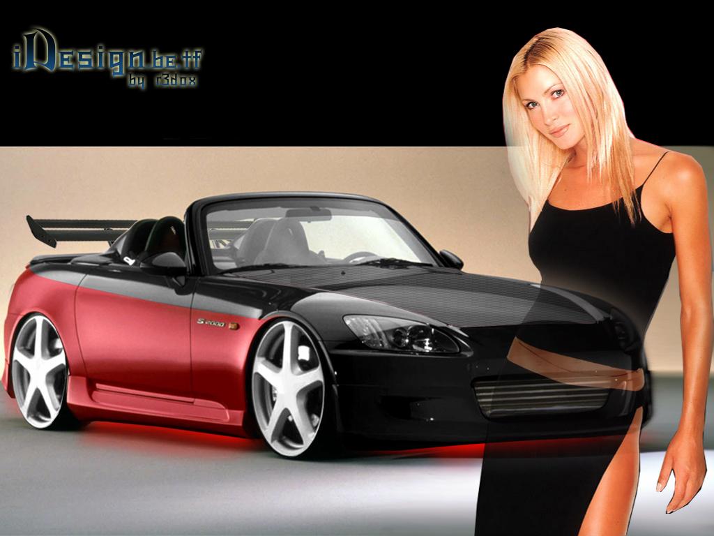 fonds d 39 cran fille et voitures automobile france algerie. Black Bedroom Furniture Sets. Home Design Ideas