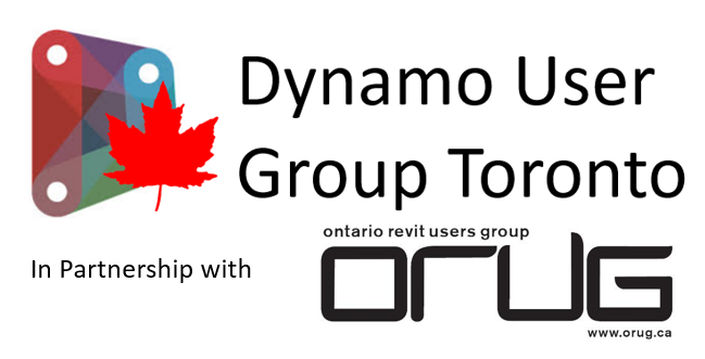 Dynamo Users Group Toronto