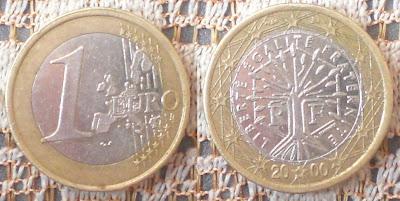france 1 euro 2000