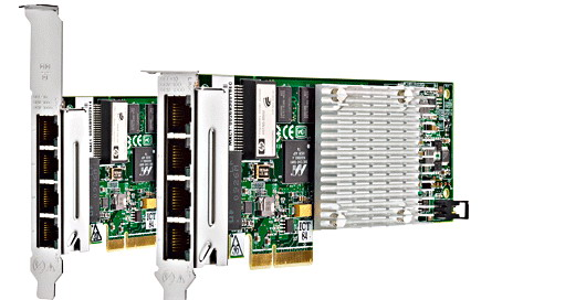 HP NC375T PCI Express Quad Port