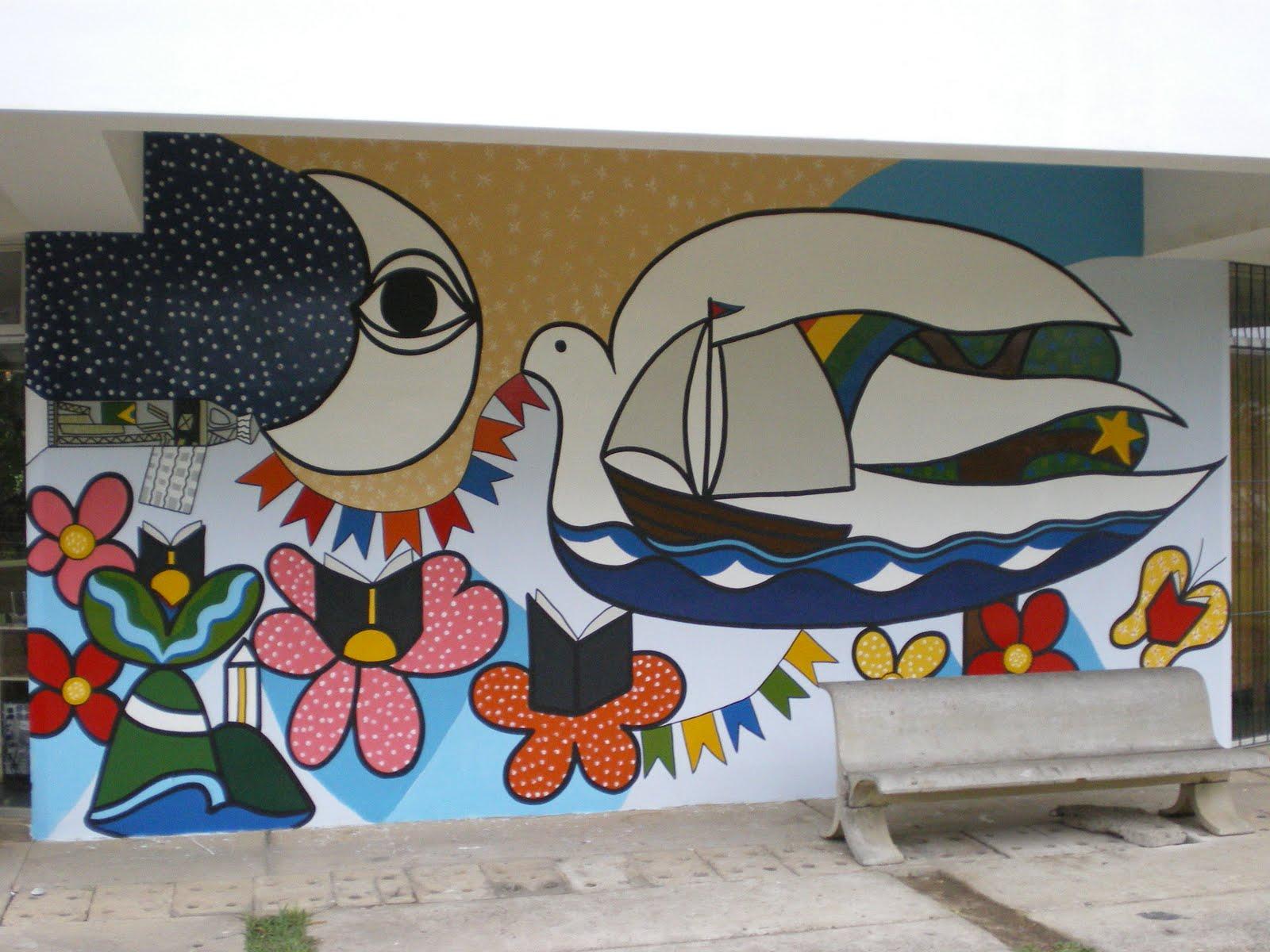 Blog du peintre Francisco Rivero: Une nouvelle peinture murale au ...
