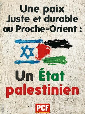 Appel pour la reconnaissance d'un État palestinien dans GAZA - PALESTINE affiche_paix_en_Palestine
