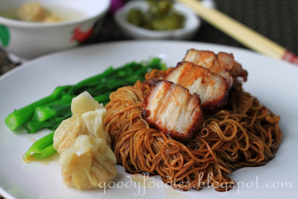 Mee+Wantan ... Recipe: Dry Wonton Noodles (Konlo Wantan Mee) with ...
