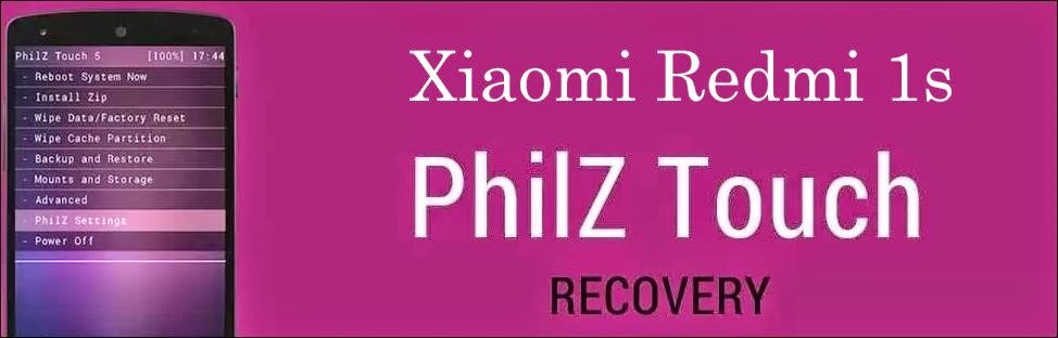 Philz recovery for redmi 1s