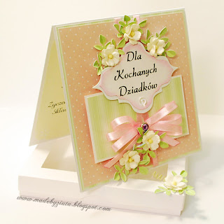 kartki dzień babci dzień dziadka scrapbooking card making kartki okolicznościowe