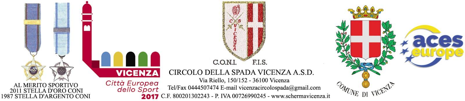 Vicenza città Europea dello Sport 2017