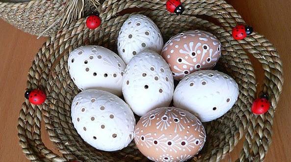 Фото пасхальных яиц как сделать