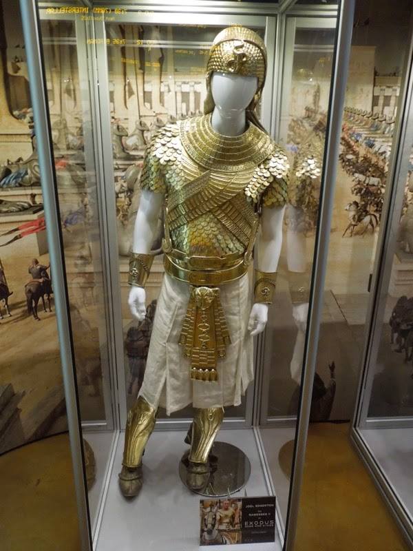 Ramesses II Exodus Gods and Kings movie costume