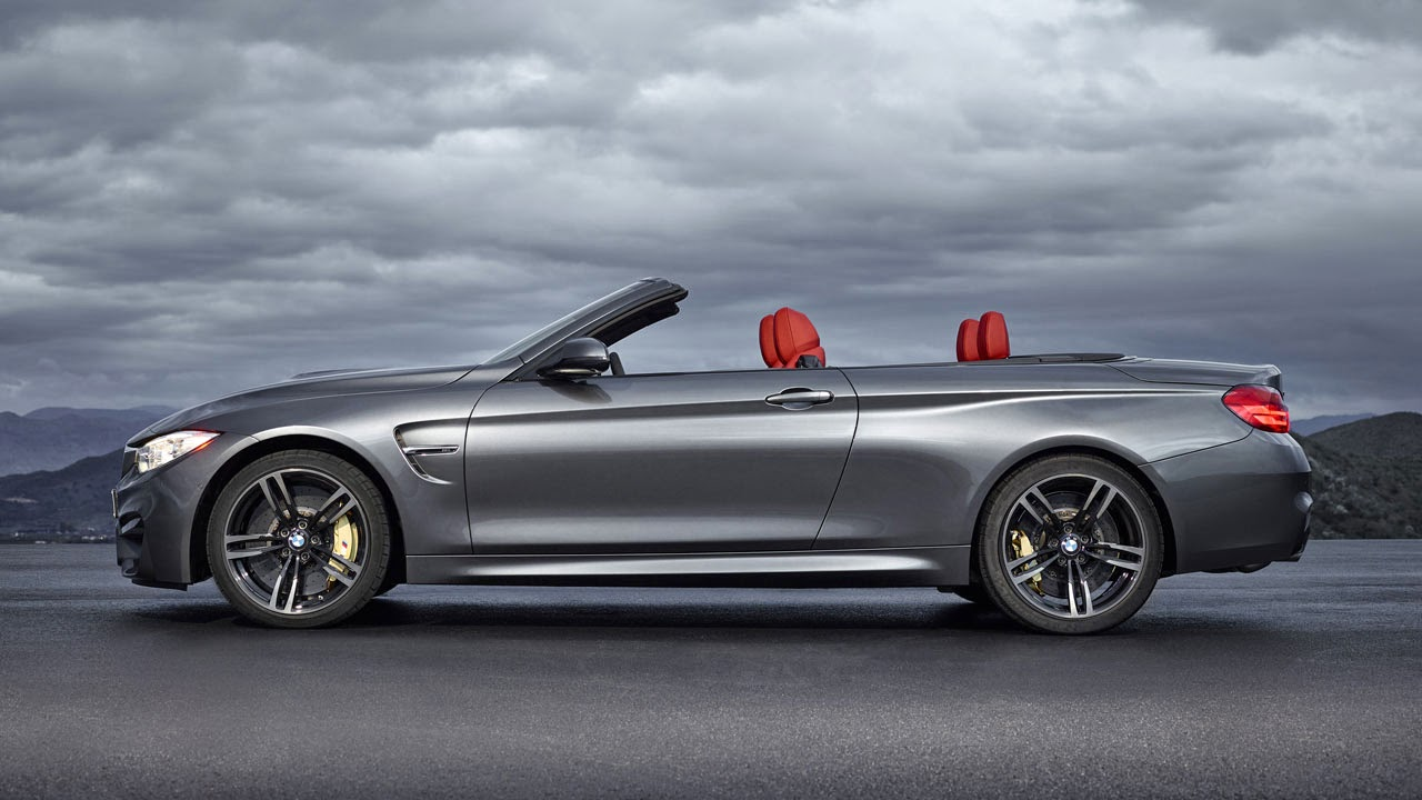 BMW M4 Convertible side