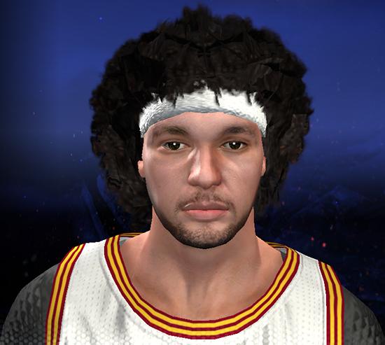 NBA 2K14 Anderson Varejao Face Mod
