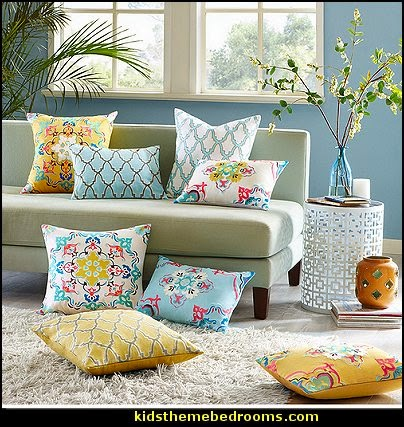 Decorating With Pillows decorating theme bedrooms - maries manor: throw pillows