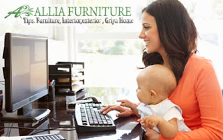 Menciptakan ruang kerja nyaman di rumah