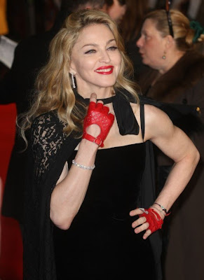 Madonna at the premiere of her new film W.E.