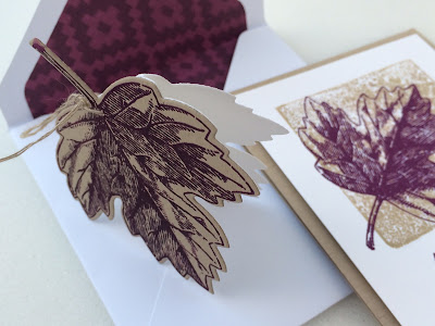 Leaf tag and card