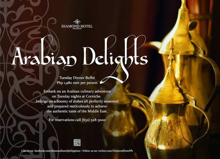 Arabian Delights at Corniche Diamond Hotel