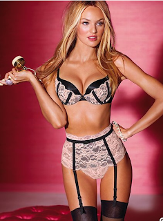 Pale Pink Black Lover Lace VerySexy