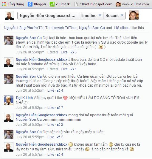 Comment từ phía Nguyễn Hiển Googlesearchbox c10mt.com