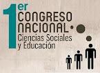 I Congreso Nacional de Ciencias Sociales y Educación