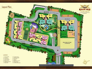 Amrapali Empire :: Site Plan