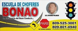ESCUELA DE CHOFERES BONAO
