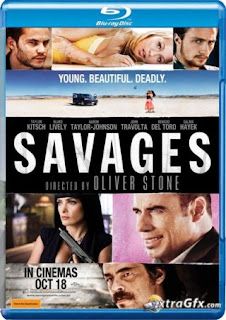 Savages (2012) BRRip | Hindi Dubbed | HD 720p  Dual Audio Hindi / English | WORLD4FREE :IN, 300mb india movies 300mb hollywood movie | hindi dubbed watch 300mb | World4Free.in