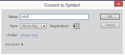 convert to symbol, movieclip